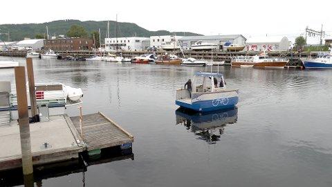 FØRERLØS FERGE: Ved NTNU i Trondheim er man i gang med å utvikle en prototype.