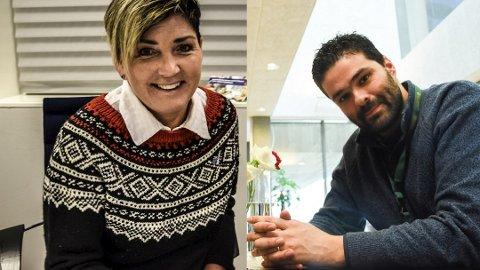 TAR STYRINGEN: Gry Fuglestveit (Ap) blir Notoddens ordfører i fire nye år og Nuno Marques (Sp) blir varaordfører.