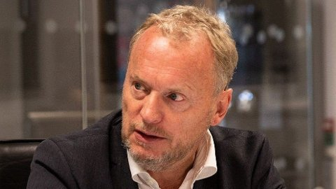 OPPGJØR: Aps byrådsleder i Oslo, Raymond Johansen, klinker til mot regjeringen for å eksportere store beløp med kontantstøtte. Foto: Magnus Blaker (Nettavisen)