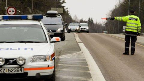 635.677 norske bilister ble kontrollert for rus og fart i fjor, mot 528.532 i 2018. Det ga også resultater.. Foto: Scanpix