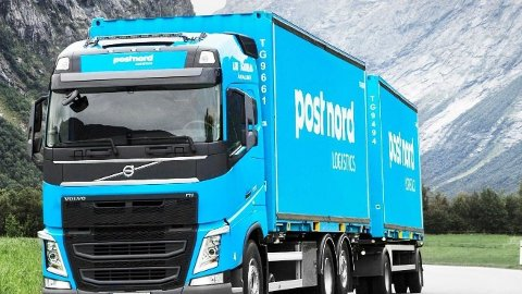 FULL STOPP: Alle forsendelser til og fra Kina er nå stanset, bekrefter Postnord tirsdag ettermiddag.  Foto: (Postnord)