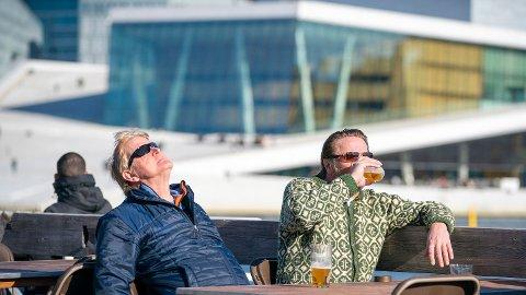 Mot slutten av neste uke ventes noen litt varmere dager i Sør-Norge. Foto: Heiko Junge / NTB scanpix