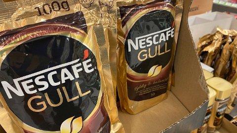 KAFFEKUPP: Mens mat blir dyrere, blir kaffe billigere.  Foto: Nina Lorvik