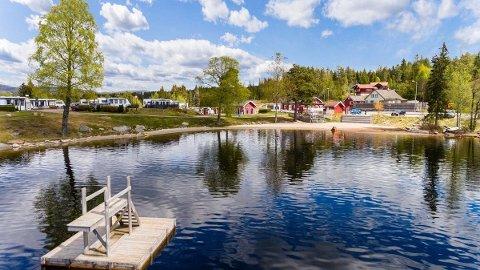 SOLGT: Solvika camping har nå fått nye eiere. Campingplassen ble solgt for like under prisantydningen. Foto: Privatmegleren Kvelland og Partnere