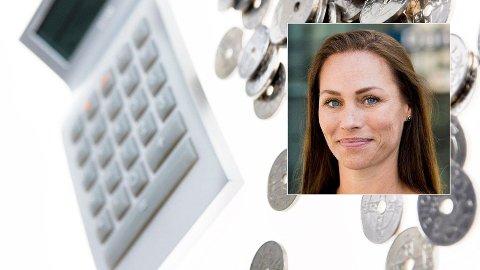 ADVARER: Forbrukerøkonom Cecilie Tvetenstrand i Danske Bank advarer mot å starte pensjonssparingen for sent. Foto: Berit Roald (NTB Scanpix)