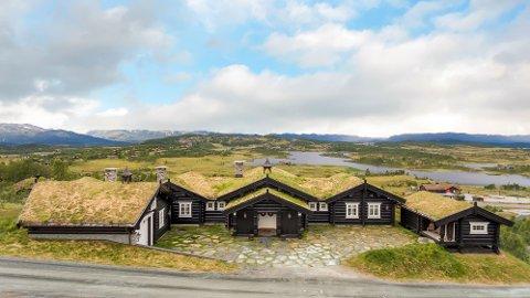 HYTTEDRØM: Hytta i Silkedalen 25 kommer for salg i neste uke. Hyttetunet har fått en prisantydning som ikke er for alle.