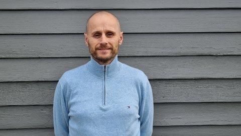 BLIR REKTOR: Arne Grave har takka ja til stillinga som rektor ved Nome videregående skole.