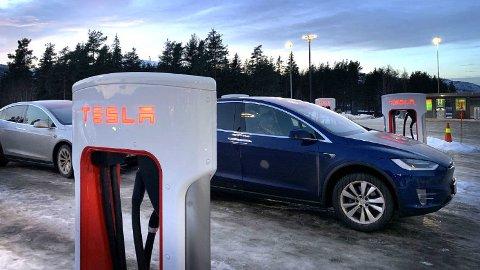Halv pris tre lørdager på rad: Slik vil Tesla sjekke om de kan påvirke eiernes kjøremønster.