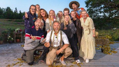 VANT: Lasse Matberg vant «Farmen kjendis» på ett avgjørende spørsmål mot Terje Sporsem i finalen. Foto: TV 2