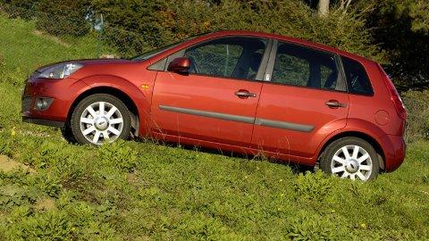 STJÅLET BIL: Bilen som er stjålet er ikke den som er fotografert, men en maken. Foto: Broom.no