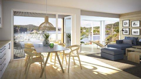 SENKET PRISEN: Prisen er justert ned på flere av leilighetene i håp om at det skal ha effekt på interessen.