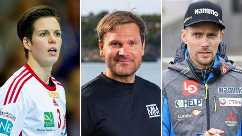 NY SESONG: Anja Hammerseng-Edin, Øystein Pettersen og Bjørn Einar Romøren er blant deltakerne i den neste sesongen av «Mesternes mester». Foto: NTB / NRK