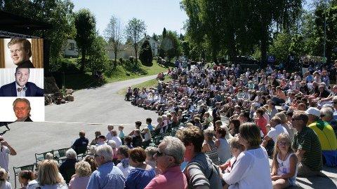 OPP TIL 200: Det kan bli riktig folksomt på Villa Lunde også denne sesongen. Dette er et bilde i fra i fjor.