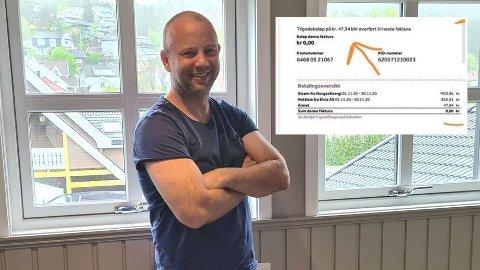 Mathias Nilsson har tidligere jobbet åtte år som strømselger. Nå forteller han hvordan man med ett enkelt grep kan spare store penger på strømmen. På den innfelte fakturaen fikk han penger til gode.