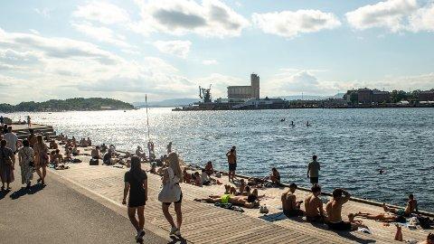 VARMEREKORD-POTENSIALE: Selv om kalenderen viser september, kan denne uken by på strålende sol og høye temperaturer denne uken.