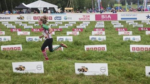 Pallen: Synne Sandven har seierspallen sammenlagt innen rekkevidde i O-ringen. (Foto: Rune Engehult).
