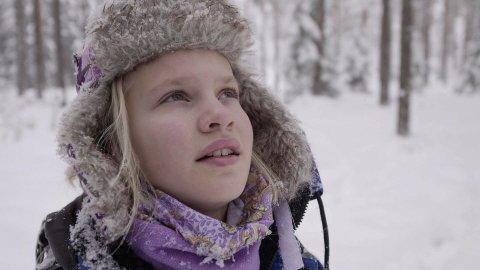 UNG DANSER: Vilde Westeng var 12 år da filmen ble spilt inn.
