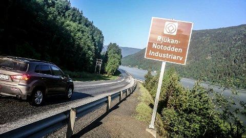 SYKKELTUR: Planene er å få folk til å oppleve verdensarven ved å sykle fra Vemork til Notodden. (illustrasjonsfoto)