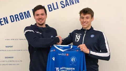 NYKOMMER: William Schølberg Husebø er NFKs nyeste signering, en spennende spiller fra Viking.