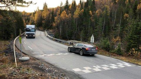 KONGSBERG: Viken fylkeskommune understreker at de kun uttaler seg om strekningen i planforslaget som ligger i Kongsberg kommune.
