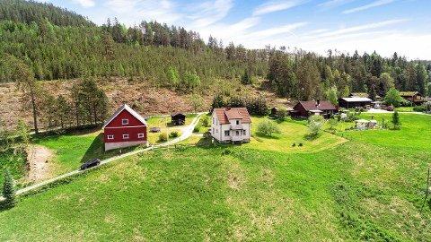 SOLGT: Småbruket på skogen har fått nye eiere.