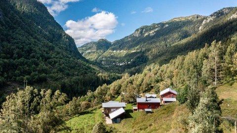 Veset Søndre i Tinn er lagt ut for salg.