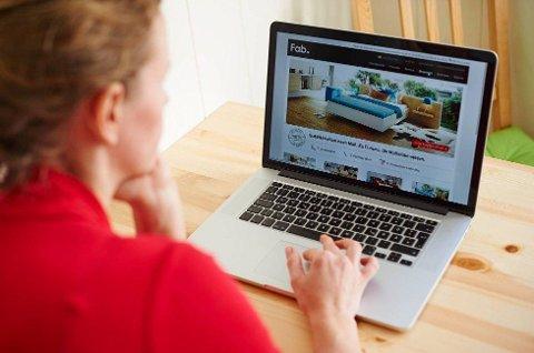 På landsbasis er det 33 prosent som tar julehandelen på nettet. Foto: NTB Scanpix