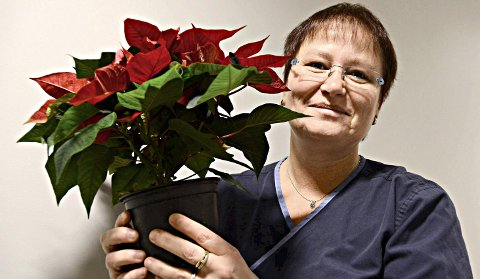 STILLER OPP: Marion Dangel var på plass i Kristiansund turnforening like etter at hun flyttet til nordmørsbyen i 2005.