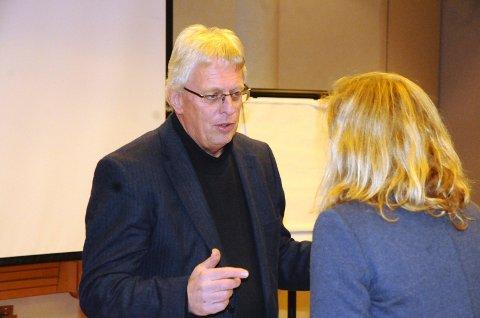 Stein Kinserdal er styreleder i Helse Møre og Romsdal. Arkivfoto