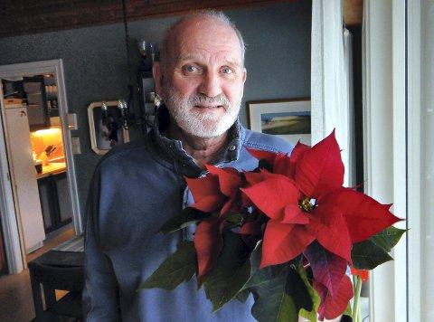 Engasjert: Oddmund Sørborg får TKs julestjerne fordi han gjennom mange år har vist et ekstra stort engasjement som lærer.