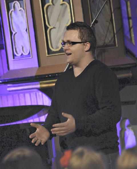 Jubel: Stian Åkvik gjennomførte en solid versjon av «O Helga Natt».