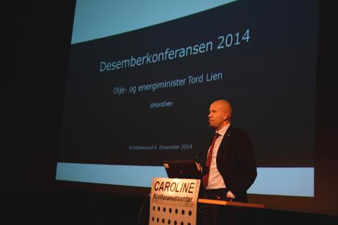 Tord Lien på Desemberkonferansen.