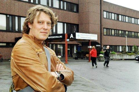 Ralph Herter er overlegetillitsvalgt på sykehuset i Kristiansund.