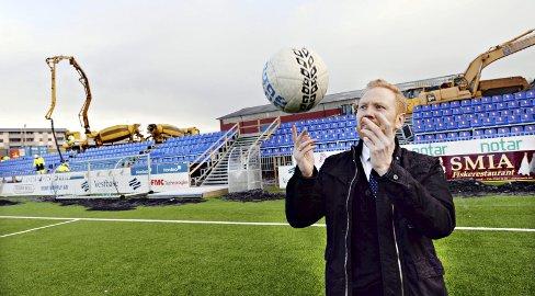 Kenneth André Leren er i gang med jobben som sportslig leder i KBK.