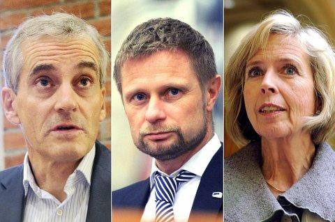 Jonas Gahr Støre, Bent Høie og Anne-Grethe Strøm-Erichsen skal inn til høring.