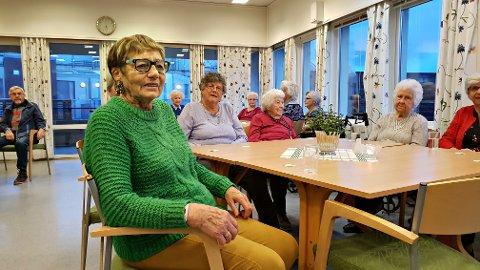 Ingeborg Bugge har stort utbytte av kulturtilbudet ved Barmanhaugen Seniorsenter. (Foto: Trond Hasselø)