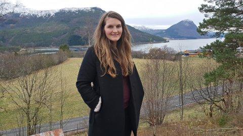 Spisskompetanse: Det er travelt på en positiv måte, sier Ingeborg Ulvund Barlaup. Arkitekten er i full sving i hjembygda med sitt nyetablerte selskap Fjordfaret arkitektkontor.