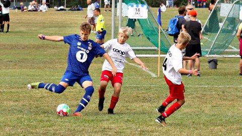 Oskar Sivertsen og Dahle/Nordlandet vant 3-0 tirsdag.