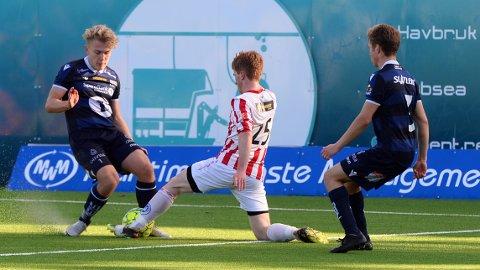 Emil Sivertsen (fra venstre) og Vegard Gjul på KBK 2, her fra forrige serierunde.