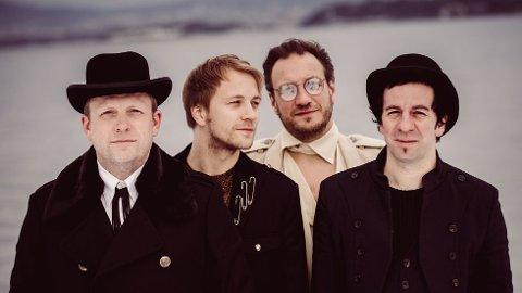 15. august står blant andre bandet Violet Road på Skjærvafestscenen i Kristiansund.