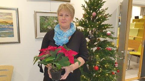 Marit Uran Utheim får TKs julestjerne.