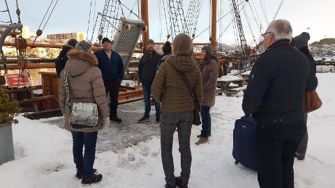 Rune Torgeirson ønsket oss velkommen til Ideal.