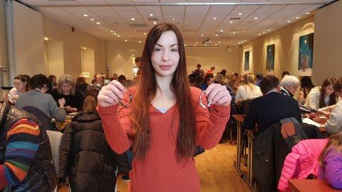 Marlene Hansen Kirkenes var fast bestemt på å bidra til søndagens Fuck Cancer-aksjon.