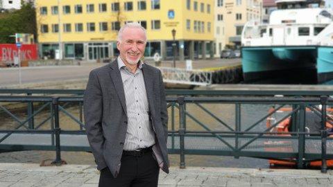 Johan Aas mener en kaipromenade bortover Vågekaia er et viktig bidrag for å skape økt aktivitet i sentrum.