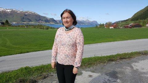 Kommunen støtter opp om bredbånd på innersida, sier Ingrid Ovidie Rangønes.