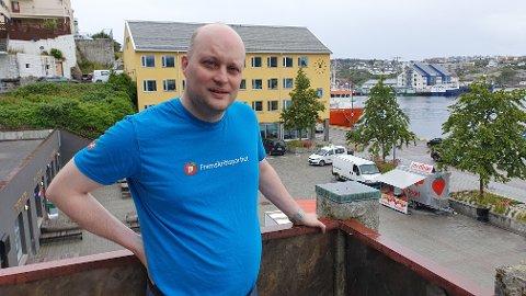 Utviklingen innen eldreomsorgen i Kristiansund har vært en villet politikk, mener Erik Aukan.