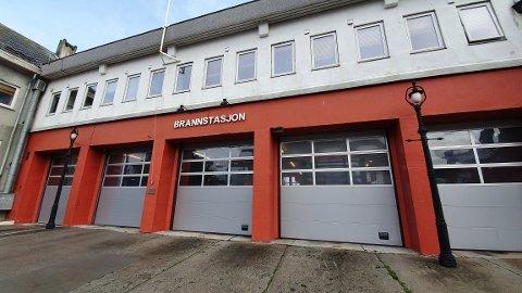Den gamle brannstasjonen til Kristiansund kommune i President Christies gate.