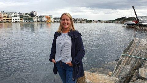 – Første byggetrinn av Port Arthur skal bokstavelig talt stå ute i havna, forteller Heidi Sæther.