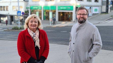 Elisabeth Hveding og Odd Sigbjørn Tvestad ser fram mot stortingsvalg høsten 2021 og lokalvalg i 2023.