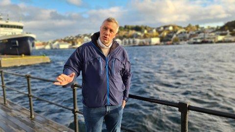 Engasjert: –. Nå trenger vi langsiktige løsninger som skaper ro og forutsigbarhet knyttet til skoletilbudet i Kristiansund, sier Terje Wiik.